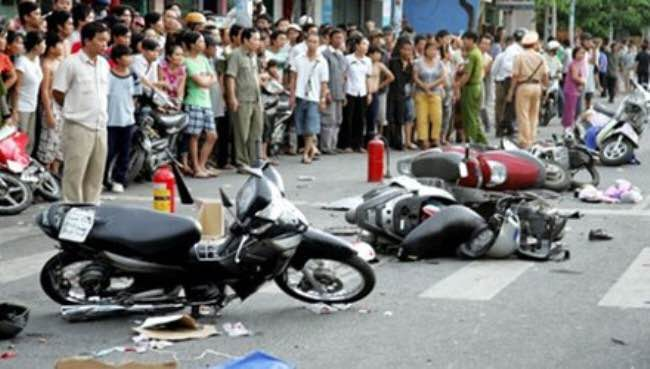 33 người tử vong vì tai nạn giao thông trong 3 ngày nghỉ lễ - 1