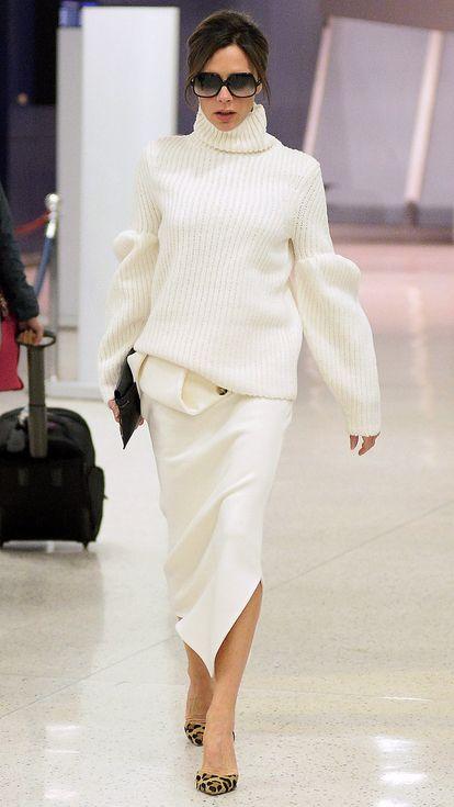 Mặc đồ trắng chuẩn-không-cần-chỉnh như các sao - 5