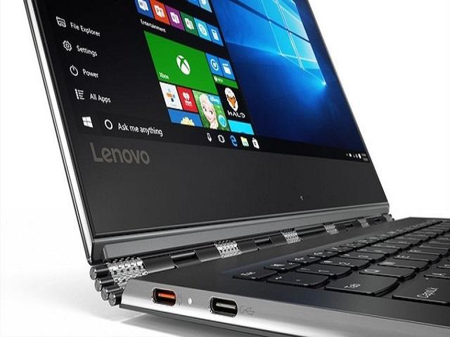 Lenovo Yoga 910 trang bị màn hình 4K và cảm biến dấu vân tay - 1