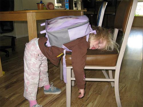 Hài hước với hình ảnh ngày đầu tiên đi học của bé - 8