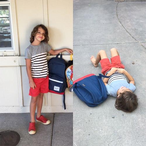 Hài hước với hình ảnh ngày đầu tiên đi học của bé - 12