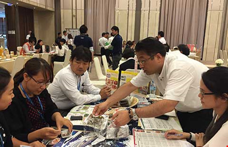Rau câu, mì gói… Nhật tấn công thị trường Việt - 1