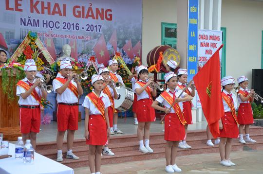 Lễ khai giảng ở ngôi trường mang tên Hoàng Sa - 3