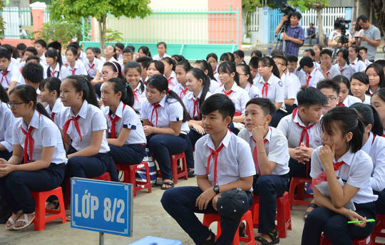 Lễ khai giảng ở ngôi trường mang tên Hoàng Sa - 5