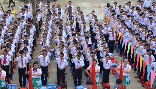 Lễ khai giảng ở ngôi trường mang tên Hoàng Sa - 6