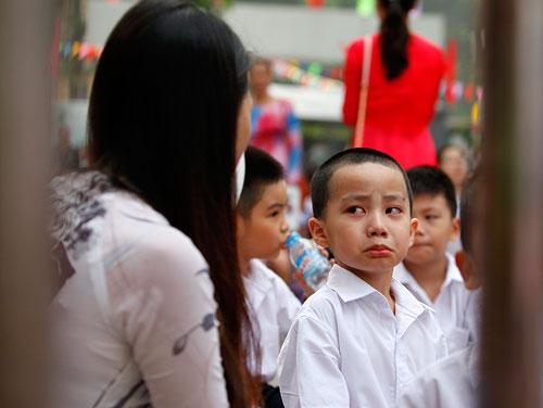 Những hình ảnh ngộ nghĩnh của trẻ nhỏ ngày đầu tới lớp - 4