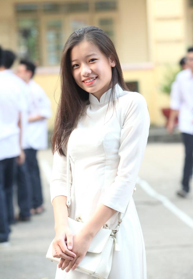 Nữ sinh trường hoa hậu Mỹ Linh xinh đẹp ngày khai giảng - 6