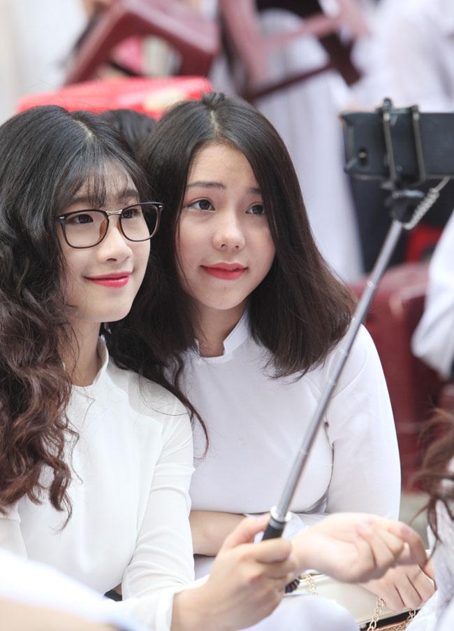 Nữ sinh trường hoa hậu Mỹ Linh xinh đẹp ngày khai giảng - 8
