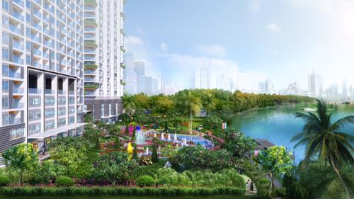 """Elite Park, tuyệt tác """"vàng mười"""" bên sông Sài Gòn - 1"""