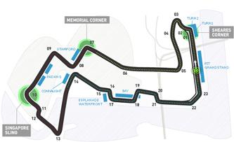 Lịch thi đấu F1: Singapore GP 2016 - 1
