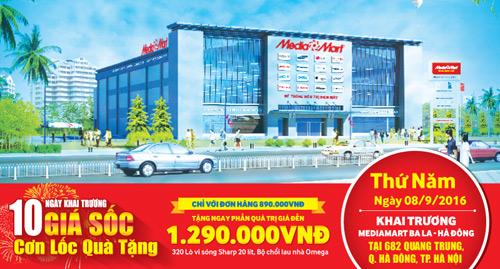 MediaMart khai trương siêu thị điện máy thứ 25 tại Hà Nội - 1