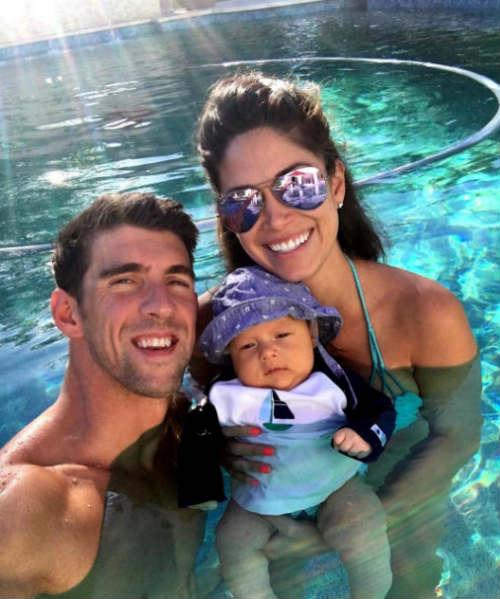 Bí mật về quý tử của Phelps và Hoa hậu Nicole Johnson - 4