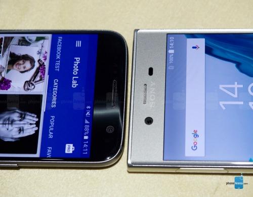 So sánh nhanh Sony Xperia XZ và Samsung Galaxy S7 - 5