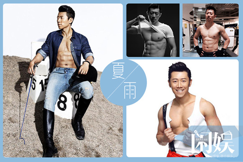 Những mỹ nam có thân hình đẹp nhất showbiz Hoa ngữ - 4