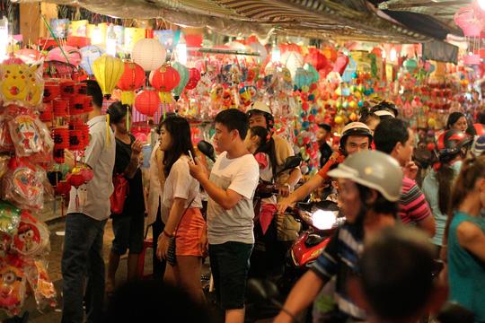 Phố lồng đèn Sài Gòn rực rỡ trước Tết Trung thu - 19