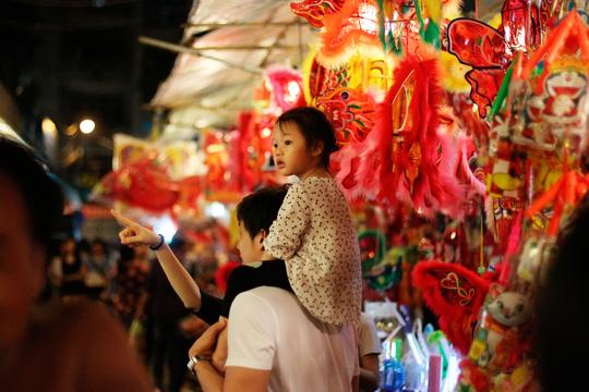 Phố lồng đèn Sài Gòn rực rỡ trước Tết Trung thu - 6