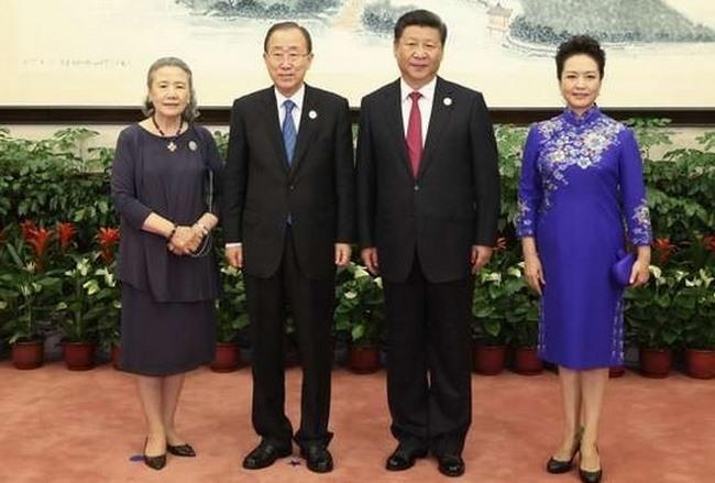 Trung Quốc chặn dân mạng khen váy của đệ nhất phu nhân - 2