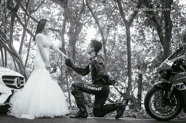 Mãn nhãn với bộ ảnh cưới cùng cặp đôi Ducati Panigale 899 - 15
