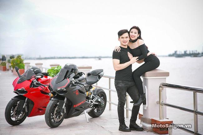 Mãn nhãn với bộ ảnh cưới cùng cặp đôi Ducati Panigale 899 - 4