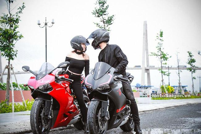 Mãn nhãn với bộ ảnh cưới cùng cặp đôi Ducati Panigale 899 - 7