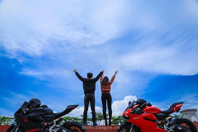 Mãn nhãn với bộ ảnh cưới cùng cặp đôi Ducati Panigale 899 - 9