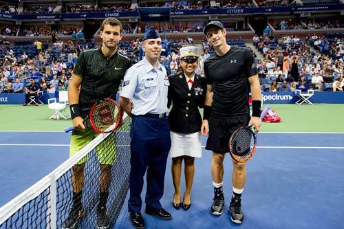 Murray - Dimitrov: Bay bổng trên sân Arthur Ashe (V4 US Open) - 1