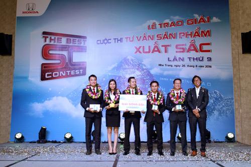 Honda Việt Nam tổ chức cuộc thi Tư Vấn Sản Phẩm xuất sắc năm 2016 - 2