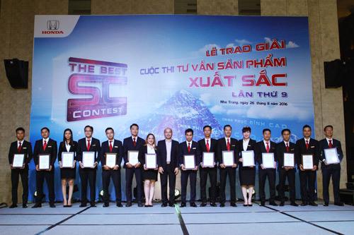 Honda Việt Nam tổ chức cuộc thi Tư Vấn Sản Phẩm xuất sắc năm 2016 - 1