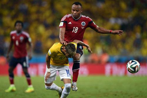 Brazil – Colombia: Neymar so tài James Rodriguez - 1