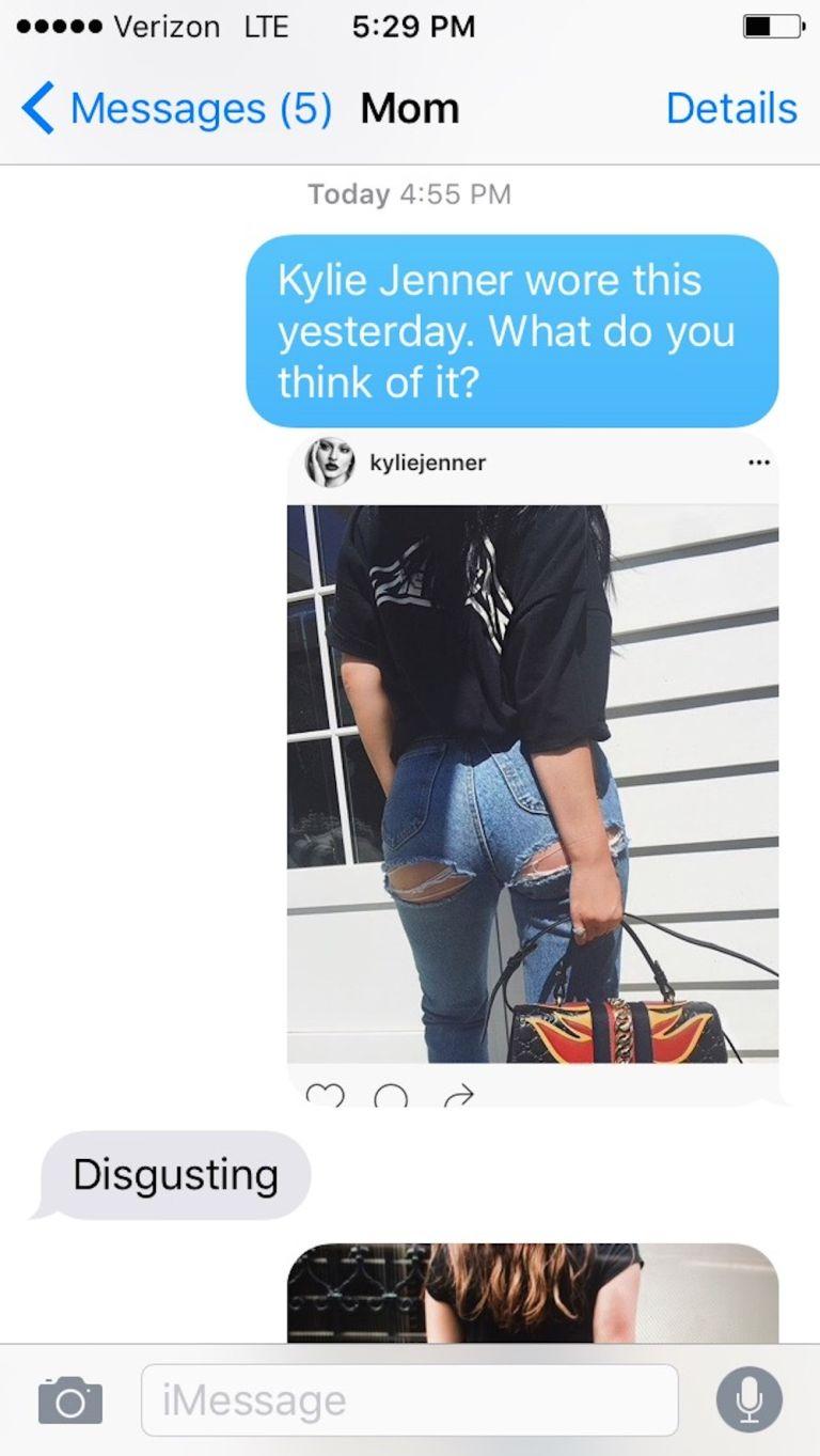 Mỹ nữ bị ném đá vì cosplay quần rách mông của Kylie Jener - 5