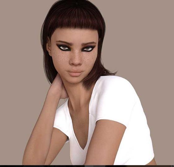 Người mẫu gây tranh cãi vì ngoại hình quá ảo - 4