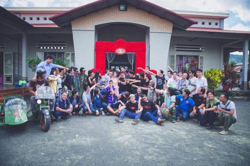 9X rước dâu bằng 40 xe minsk gây sốt ở Lâm Đồng - 11