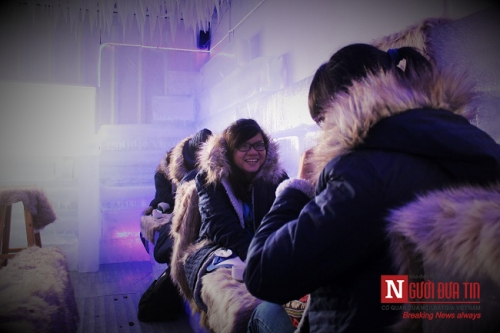 Giới trẻ Sài thành thích thú với cà phê lạnh -10 độ - 5