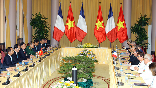 Sau hội đàm, Việt Nam ký hợp đồng mua 40 máy bay Airbus - 1