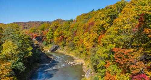 Hokkaido-Mombetsu vào thu - 2