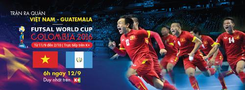 FIFA Futsal World Cup 2016: Liệu Việt Nam có làm nên kỳ tích? - 3