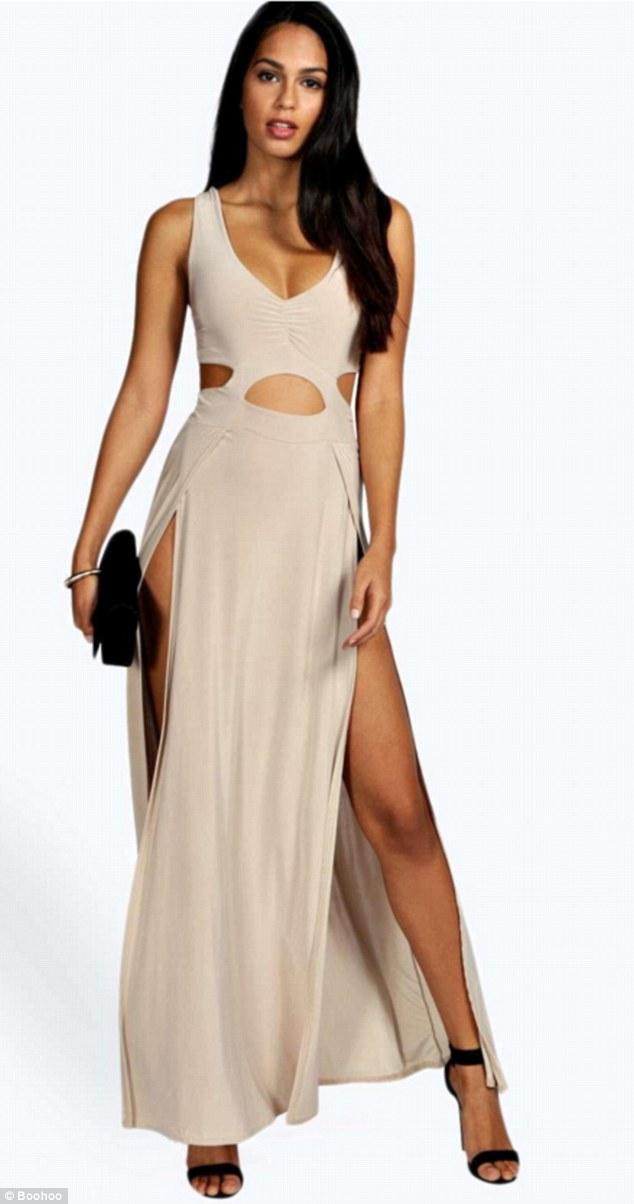 Tuyệt chiêu thuần hóa váy khoét sâu hở sườn siêu sexy - 9