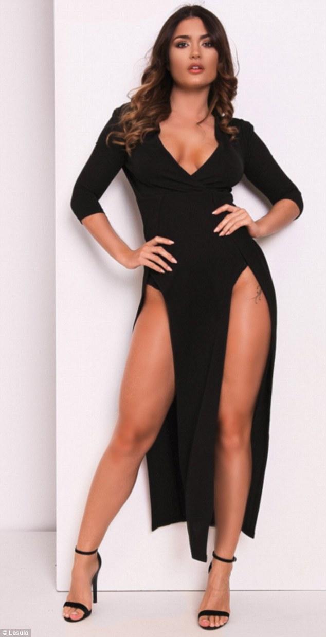 Tuyệt chiêu thuần hóa váy khoét sâu hở sườn siêu sexy - 10