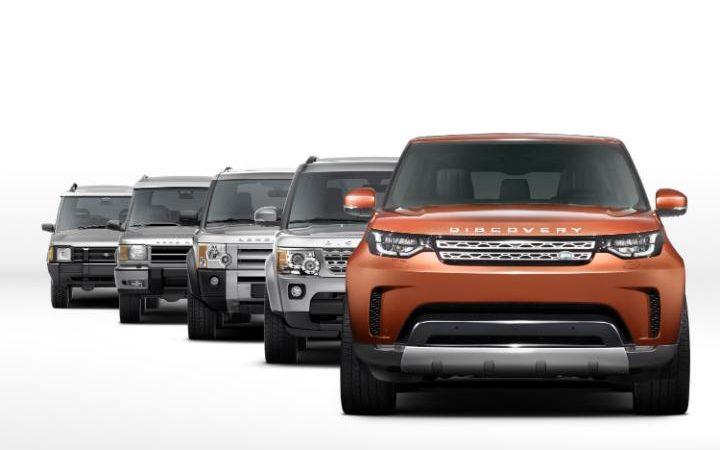 Land Rover Discovery thế hệ thứ 5 sắp trình làng - 2