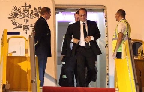Tổng thống Pháp tới TP.HCM - 3