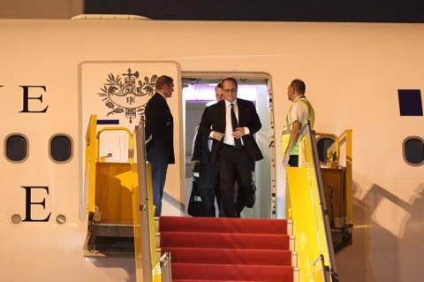 Tổng thống Pháp tới TP.HCM - 4