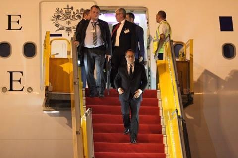 Tổng thống Pháp tới TP.HCM - 5