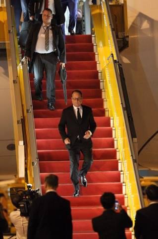 Tổng thống Pháp tới TP.HCM - 6