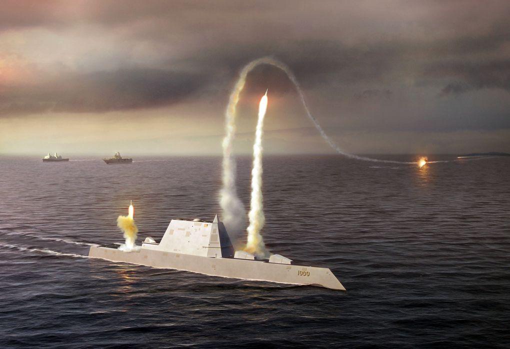 Mỹ sắp điều siêu khu trục hạm đầy sức mạnh đến châu Á - 2