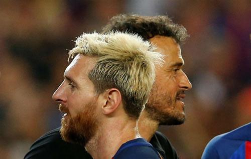 Messi vắng mặt, Barca thời Enrique sống khỏe re - 1