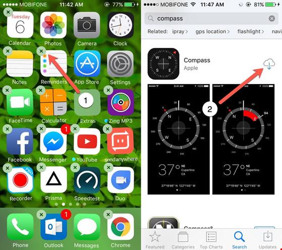 Cách xóa các ứng dụng gốc khỏi màn hình iPhone - 1