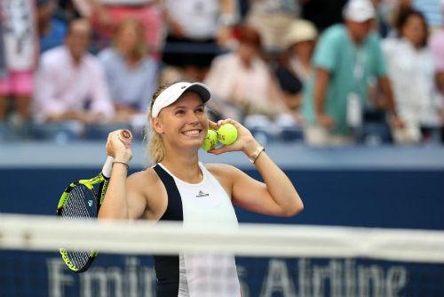 US Open ngày 9: Wozniacki thẳng tiến vào bán kết - 1