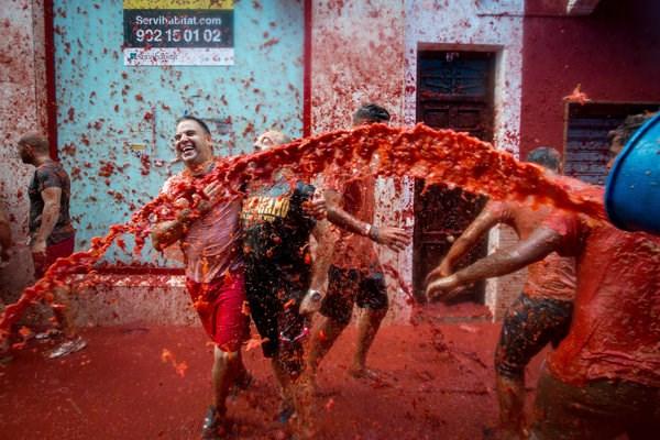 """Cận cảnh """"cuộc chiến cà chua"""" lớn nhất thế giới - 11"""