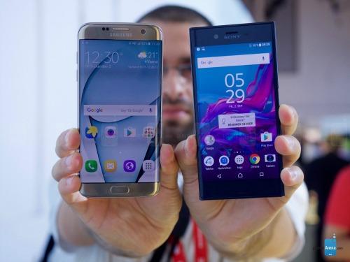 So sánh nhanh Sony Xperia XZ và Samsung Galaxy S7 Egde - 2