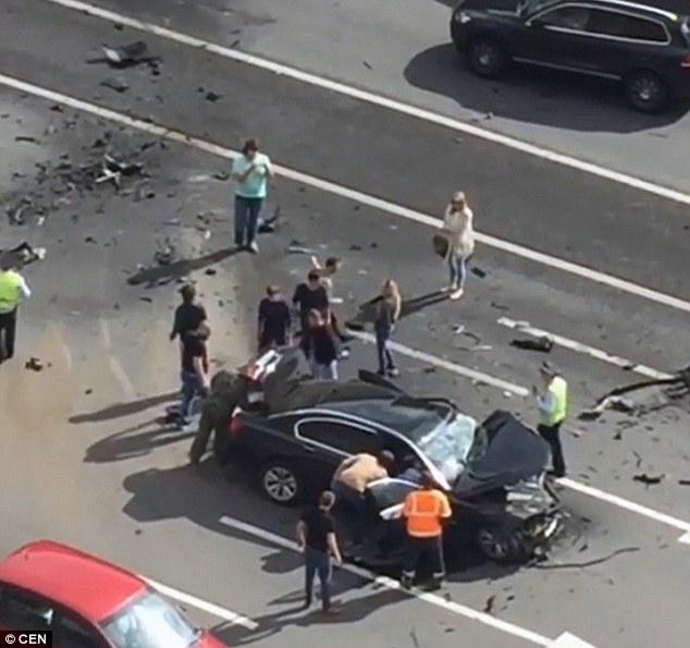 Tài xế của Putin thiệt mạng trong tai nạn kinh hoàng - 1